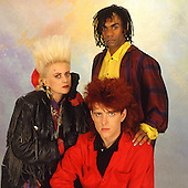 Aug 13, 1985: THOMPSON TWINS - Photosession in London