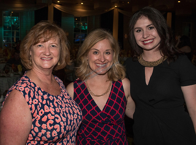 Donna Kuckhoff, Katie Nannini and Madisyn Hallan during the 26th Annual Salute to Women of Achievement Luncheon held at the Grand Sierra Resort on Thursday, May 25, 2017.