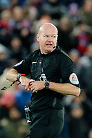 Referee, Lee Masond uring the EPL - Premier League match between Crystal Palace and Watford at Selhurst Park, London, England on 12 December 2017. Photo by Carlton Myrie / PRiME Media Images.