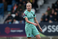 Leah Williamson of Arsenal during West Ham United Women vs Arsenal Women, FA Women's Super League Football at Rush Green Stadium on 6th January 2019