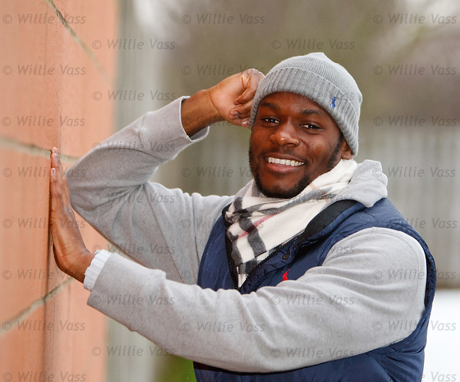 Maurice Edu at Murray park after training