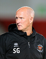 Blackpool manager Simon Grayson<br /> <br /> Photographer Alex Dodd/CameraSport<br /> <br /> The EFL Sky Bet League One - Doncaster Rovers v Blackpool - Tuesday September 17th 2019 - Keepmoat Stadium - Doncaster<br /> <br /> World Copyright © 2019 CameraSport. All rights reserved. 43 Linden Ave. Countesthorpe. Leicester. England. LE8 5PG - Tel: +44 (0) 116 277 4147 - admin@camerasport.com - www.camerasport.com