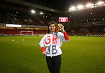 Grace Clough  a medal winning paralympic during the League One match at Bramall Lane Stadium, Sheffield. Picture date: September 27th, 2016. Pic Simon Bellis/Sportimage