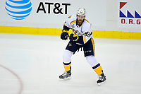 May 29, 2017: Nashville Predators defenseman Matt Irwin (52) in game action during game one of the National Hockey League Stanley Cup Finals between the Nashville Predators  and the Pittsburgh Penguins, held at PPG Paints Arena, in Pittsburgh, PA. Pittsburgh defeats Nashville 5-3 in regulation time.  Eric Canha/CSM
