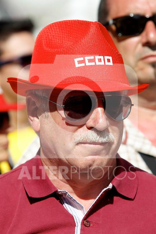 Ignacio Fernandez Toxo at the Gay pride day.June, 30,2012.(ALTERPHOTOS/Alconada)