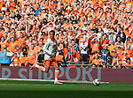Blackpool 1 West Ham United 2, 19/05/2012. Wembley Stadium, London. Championship Play-Off Final. Photo by Paul Thompson.