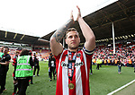 Sheffield United's Billy Sharp in action during the League One match at Bramall Lane, Sheffield. Picture date: April 30th, 2017. Pic David Klein/Sportimage