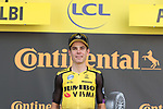 Wout Van Aert (BEL) Team Jumbo-Visma wins Stage 10 of the 2019 Tour de France running 217.5km from Saint-Flour to Albi, France. 15th July 2019.<br /> Picture: Colin Flockton | Cyclefile<br /> All photos usage must carry mandatory copyright credit (© Cyclefile | Colin Flockton)