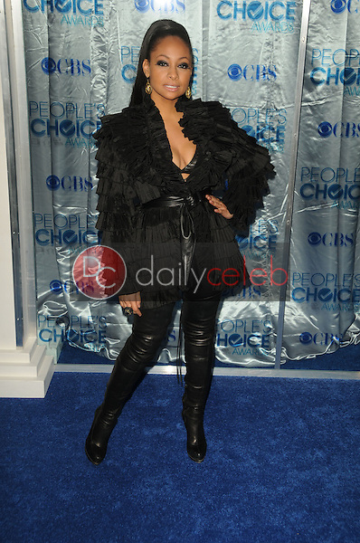 Raven-Symone<br /> at the 2011 People's Choice Awards - Arrivals, Nokia Theatre, Los Angeles, CA. 01-05-11<br /> David Edwards/DailyCeleb.com 818-249-4998