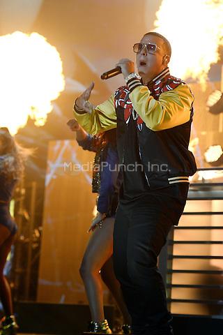 MIAMI, FL - NOVEMBER 5: Daddy Yankee at iHeartRadio Fiesta Latina 2016 at The American Airlines Arena on November 5, 2016. Credit: mpi04/MediaPunch