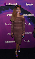 NEW YORK, NEW YORK - MAY 13: Amanda Seales attends the People & Entertainment Weekly 2019 Upfronts at Union Park on May 13, 2019 in New York City. <br /> CAP/MPI/IS/JS<br /> ©JS/IS/MPI/Capital Pictures