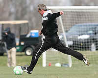 Jim Gabarra during Washington Freedom  practice and media event at the Maryland Soccerplex on March 25 in Boyd's, Maryland.