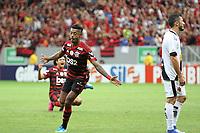 BRASÍLIA, DF, 17.08.2019: VASCO-FLAMENGO - Bruno Henrique comemora gol do Flamengo. Partida entre Vasco e Flamengo pelo Campeonato Brasileiro na tarde deste sábado (17) no estádio Mané Garrincha em Brasília. (Foto: Anderson Papel/Código19)