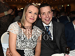 Brian and Eimear Mullen at the St. Colmcilles gala ball in City North hotel. Photo:Colin Bell/pressphotos.ie