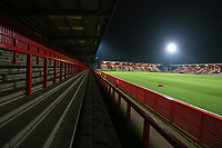 General view of the ground during Stevenage vs Brighton & Hove Albion Under-21, Checkatrade Trophy Football at the Lamex Stadium on 7th November 2017