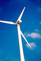 WINDMILLS<br /> Wind Turbine Generates Electricity<br /> Renewable energy from eolian power. Lincoln, NE