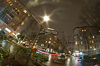 I night time walk through a part of Kreuzberg in January 2012