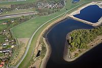 Kreetsand: EUROPA, DEUTSCHLAND, HAMBURG 09.04.2017:   Tiedeelbe Konzept Kreetsand, Hamburg Port Authority (HPA), soll auf der Ostseite der Elbinsel Wilhelmsburg zusaetzlichen Flutraum für die Elbe schaffen. Das Tidevolumen wird durch diese strombauliche Massnahme vergroessert und der Tidehub reduziert. Gleichzeitig ergeben sich neue Moeglichkeiten für eine integrative Planung und Umsetzung verschiedenster Interessen und Belange aus Hochwasserschutz, Hafennutzung, Wasserwirtschaft, Naturschutz und Naherholung.