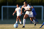 29 November 2013: Virginia Tech's Jazmine Reeves. The Virginia Tech University Hokies played the Duke University Blue Devils at Thompson Field in Blacksburg, Virginia in a 2013 NCAA Division I Women's Soccer Tournament Quarterfinal match. Virginia Tech won the game 3-0.