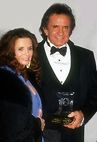 Johnnt Cash June Carter Cash, 2002, Photo By Michael Ferguson/PHOTOlink
