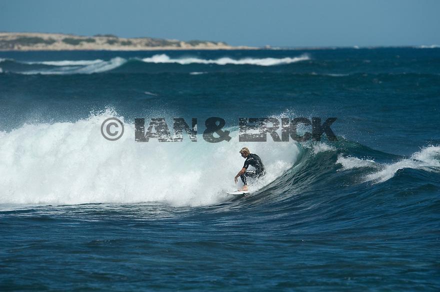 John Florence at Gallows in Injidup in Western Australia.