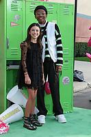 "LOS ANGELES - JAN 25:  Acarlett Estevez, Israel Johnson at the ""Zombies 2"" Screening at the Disney Studios on January 25, 2020 in Burbank, CA"