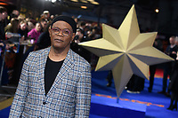 "Samuel L Jackson<br /> arriving for the ""Captain Marvel"" European premiere at the Curzon Mayfair, London<br /> <br /> ©Ash Knotek  D3484  27/02/2019"
