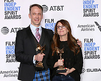 LOS ANGELES - FEB 23:  Jeff Whitty, Nicole Holofcener - Best Screenplay at the 2019 Film Independent Spirit Awards on the Beach on February 23, 2019 in Santa Monica, CA