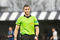 7th March 2020; Somerset Park, Ayr, South Ayrshire, Scotland; Scottish Championship Football, Ayr United versus Dundee FC; Referee Steven McLean
