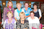 GOLFING FUN: Having great fun at the Lady President Prize at Tralee Golf Club on Sunday seated l-r: Pearl McGuillycuddy, Deirdre McElligott and Mary Scully. Back l-r: Cora O'Mahoney, Marie Sheehy, Mary Sheehy and Liz O'Carroll.