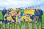 CUP WINNERS: The Killorglin team winners of the Hennebury Cup Final at Mounthawk Park on Thursday.