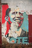 Obama in Tatters - DC