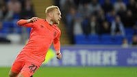 Huddersfield Town's Alex Pritchard during the game <br /> <br /> Photographer Ian Cook/CameraSport<br /> <br /> The EFL Sky Bet Championship - Cardiff City v Huddersfield Town - Wednesday August 21st 2019 - Cardiff City Stadium - Cardiff<br /> <br /> World Copyright © 2019 CameraSport. All rights reserved. 43 Linden Ave. Countesthorpe. Leicester. England. LE8 5PG - Tel: +44 (0) 116 277 4147 - admin@camerasport.com - www.camerasport.com