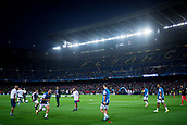 12th September 2017, Camp Nou, Barcelona, Spain; UEFA Champions League Group stage, FC Barcelona versus Juventus; Juventus team during the warm up