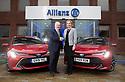 19/02/20<br /> <br /> Toyota Corolla fleet hand-over at Allianz, Guildford.<br /> <br /> All Rights Reserved: F Stop Press Ltd.  <br /> +44 (0)7765 242650 www.fstoppress.com