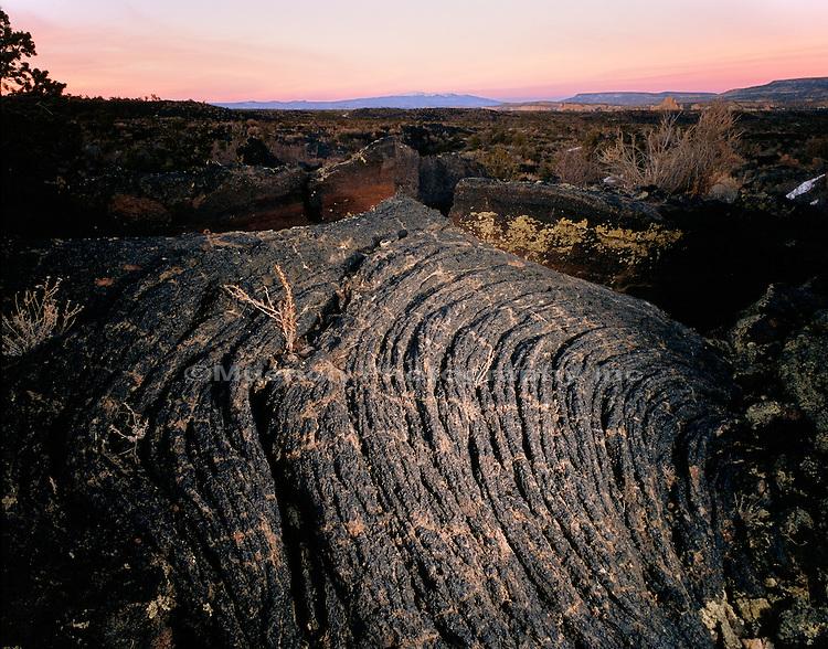 """El Malpais lava, Mt. Taylor El Malpais NM  NEW MEXICO"""
