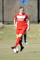 Boyds, Maryland - March 15, 2014. Christine Nairn of the Washington Spirit. The Washington Spirit during the Meet the Team at the Maryland SoccerPlex.