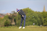 Tom McKibbin (IRL) on the 5th tee during Round 3 of the Lytham Trophy, held at Royal Lytham & St. Anne's, Lytham, Lancashire, England. 05/05/19<br /> <br /> Picture: Thos Caffrey / Golffile<br /> <br /> All photos usage must carry mandatory copyright credit (© Golffile | Thos Caffrey)