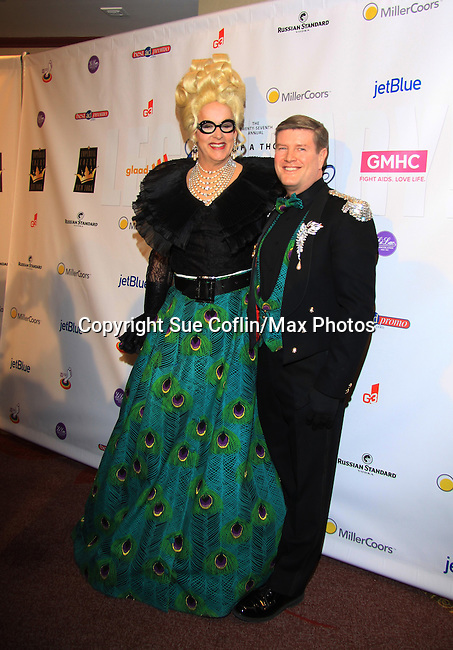 many attend The 27th Annual Night of a Thousand Gowns benefitting GLAAD and GMHC on April 6, 2013 at The Hilton New York, NYC, NY. (Photo by Sue Coflin/Max Photos)