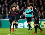 Arsenal's Alexis Sanchez celebrates scoring his sides second goal during the premier league match at Selhurst Park Stadium, London. Picture date 28th December 2017. Picture credit should read: David Klein/Sportimage