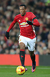 Anthony Martial of Manchester United during the English League Cup Quarter Final match at Old Trafford  Stadium, Manchester. Picture date: November 30th, 2016. Pic Simon Bellis/Sportimage