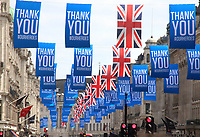 JUL 3 Thanks NHS Banners fly in London