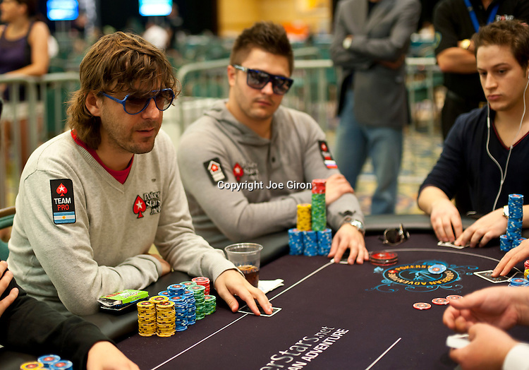 Team Pokerstars Pro Leo Fernandez and Max Lykov