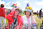More Mad Hatters at the Waterville Childrens Festival on Saturday, learning to 'Laugh Like A Child Again' were l-r; Esther O'Connell & Colette Hillis.