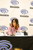 Jody Houser at Wondercon in Anaheim Ca. March 31, 2019