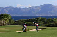 Matthew Jordan (ENG) on the 15th fairway during Round 3 of the Challenge Tour Grand Final 2019 at Club de Golf Alcanada, Port d'Alcúdia, Mallorca, Spain on Saturday 9th November 2019.<br /> Picture:  Thos Caffrey / Golffile<br /> <br /> All photo usage must carry mandatory copyright credit (© Golffile | Thos Caffrey)