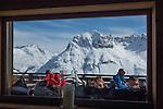 Balmalp Restaurant atop Zurs Ski Area, St Anton, Austria
