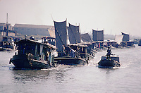 China's Grand Canal was started in 486BC and was built in sections over the next 1,000 years. The aim was to link both the Yanzi and Yellow Rivers and Beijing and Shanghai and, at 1,112 miles (1,900km), it remains the world's largest man-made waterway.