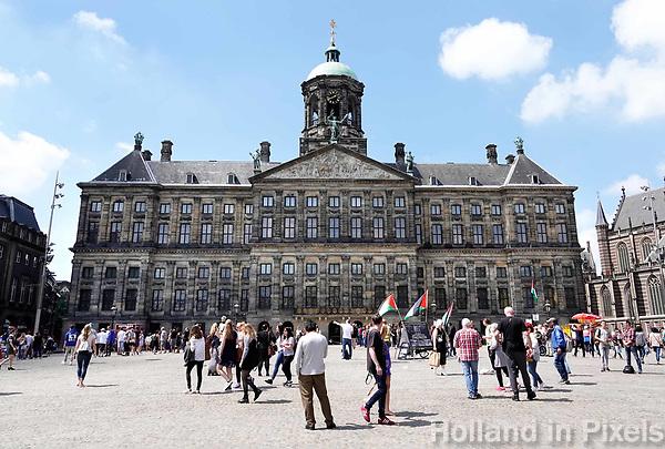 Nederland  Amsterdam - 2018.  Het Paleis op de Dam.   Foto Berlinda van Dam / Hollandse Hoogte.