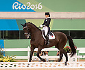 Akane Kuroki (JPN),<br /> AUGUST 10, 2016 - Equestrian : Akane Kuroki of Japan competes with her horse Toots in the equestrian dressage competition of the Rio 2016 Olympic Games at Olympic Equestrian Centre in Rio de Janeiro, Brazil.<br /> (Photo by Enrico Calderoni/AFLO SPORT)
